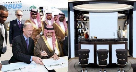 Самый дорогой в мире частный самолет купил себе арабский шейх